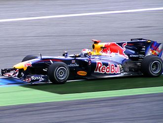 2010 German Grand Prix - Sebastian Vettel clinched his sixth pole position of his season.