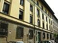 Via della chiesa, facciata albergo popolare.JPG