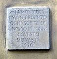 Via della colonna, monastero di santa maria degli angiolini, 03 ss. otto 1636.JPG