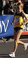 Vienna 2013-04-14 Vienna City Marathon - F4 Rosaria Console, ITA, preparing for race a.jpg