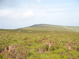 Moel Fferna - Moel Fferna from Vivod Mountain.
