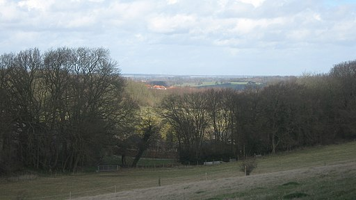 View form the Elham Valley Way - geograph.org.uk - 1777989