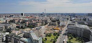 Leipziger Straße - View from Potsdamer Platz