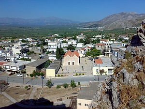 Charakas - view of the village from ο Haraki