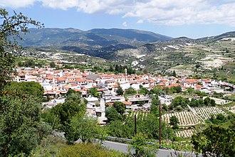 Omodos - Image: View of Omodos 10