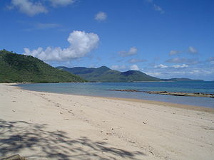 Palm Island, Queensland - View of Palm Island from Wallaby Point