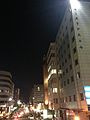 View of lunar eclipse from east of Esaka Station 1.jpg