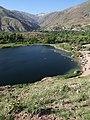 View over Lake Avon - Alamut Valley - Northwestern Iran - 03 (7418144692).jpg
