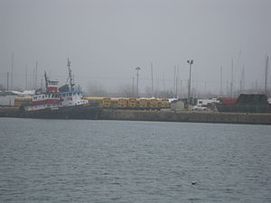 Viewing two tugs moored at the mouth of the Keating Channel -b.jpg