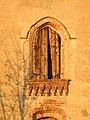 Villa Dal Verme, dettaglio finestra ad arco gotico (Agugliaro).jpg