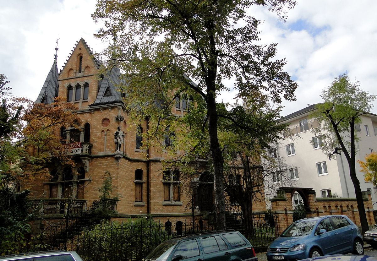 Villa m ckel wikipedia for Autopark leubnitzer hohe