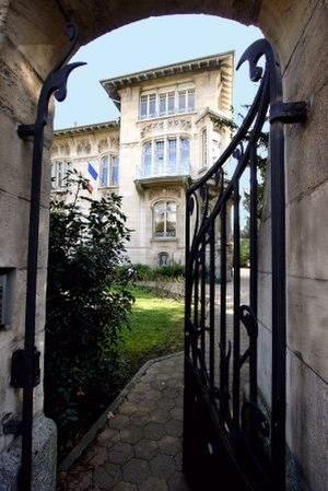 European Audiovisual Observatory - Headquarters: Villa Schutzenberger (1900) in Strasbourg phot.F.J.CABRERA