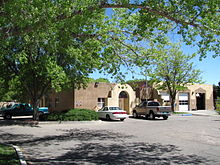 Village Hall, Los Ranchos de Albuquerque New Mexico.jpg