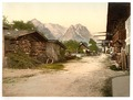 Village street, Garmisch, Upper Bavaria, Germany-LCCN2002696222.tif