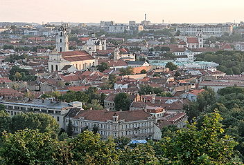Vilnius Old Town - Wikipedia on map old town copenhagen, map chicago old town, map prague old town, map bucharest old town, map salzburg old town,