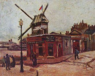Le Moulin de la Galette (Van Gogh series) - Image: Vincent Willem van Gogh 066