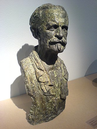 Vincent d'Indy - Vincent d'Indy, sculpture by Antoine Bourdelle
