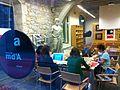 Viquiprojecte amb els Amics del Museu d'Art de Girona 11.JPG