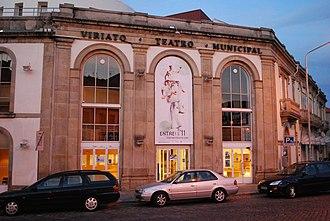 Viseu - Image: Viseu Teatro Viriato (2)