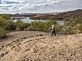 Visitor hiking Lake View Trail near Katherine Landing (d8f68cfa-a65c-4eb1-a8a1-f285c21c6b77).jpg