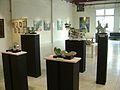 Vista de la exposición del Grupo Testimonios en Mosaik, San Isidro, Buenos Aires. 2010.jpg
