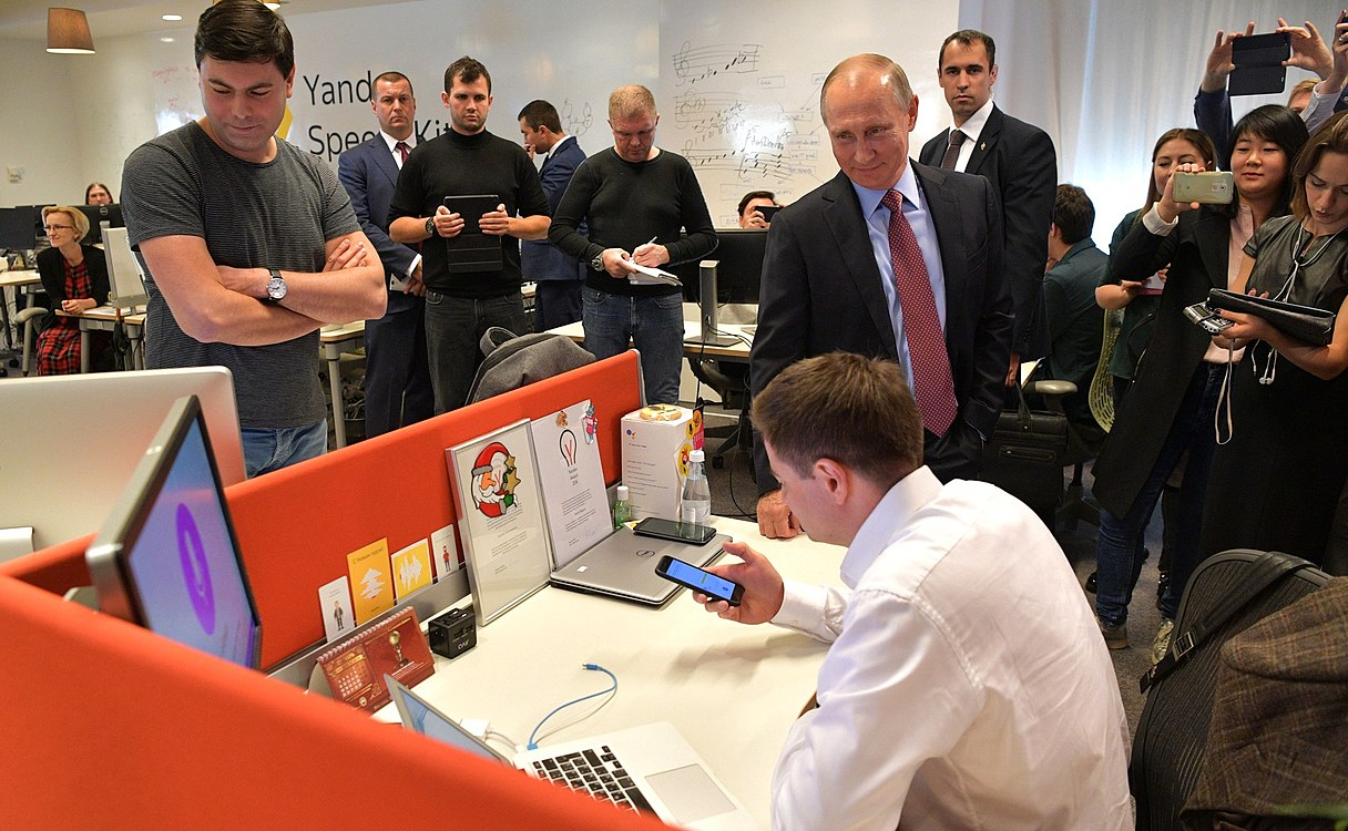 Vladimir Putin visited the Moscow office of Yandex (2017-09-21) 09.jpg