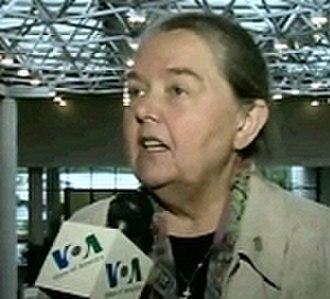 Rada of the Belarusian Democratic Republic - Ivonka Survilla, current president of the Rada BNR
