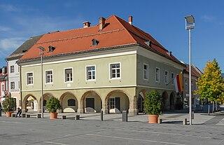 Völkermarkt Place in Carinthia, Austria