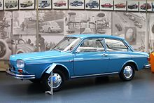 Volkswagen 411 notchback prototype 1966. In the end the manufacturer prefered a fastback profile for the Type 4.JPG
