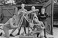 Voorbereidingen Wereldkampioenschappen Wielrennen, rond de fiets, Du Bois , Van , Bestanddeelnr 919-4560.jpg
