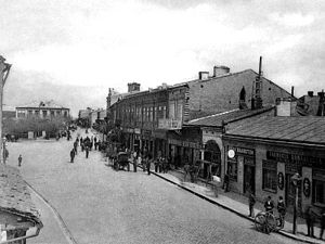 Buzău - Buzău in early 20th century