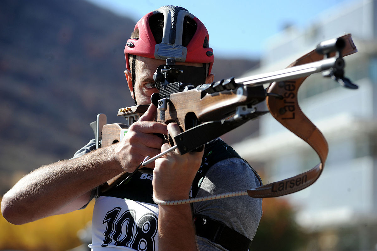 Biathlon rifle - Wikipedia