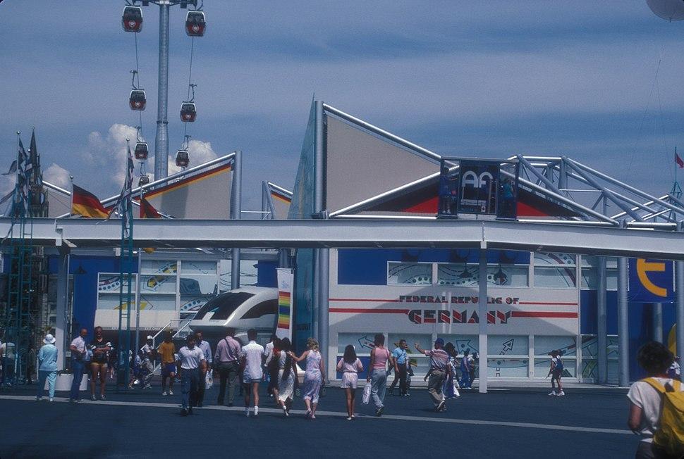 WEST GERMAN PAVILION AT EXPO 86, VANCOUVER, B.C.