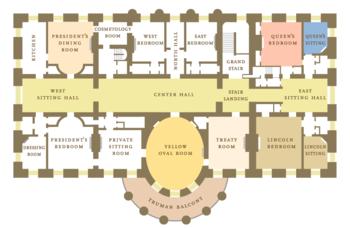 Residencia ejecutiva wikipedia la enciclopedia libre - Planos de la casa blanca ...
