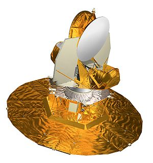 Wilkinson Microwave Anisotropy Probe - Artist's impression of WMAP