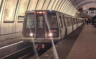 Red Line (Washington Metro) Washington Metro rapid transit line