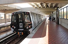 WMATA Metrorail 7000 series at West Hyattsville 2015-10-31 (22022978904).jpg