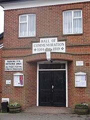 Wadhurst commemoration hall