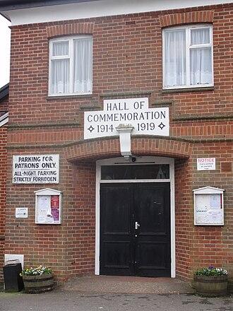 Wadhurst - Hall of Commemoration on High Street.