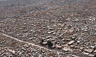 Wadi-us-Salaam cemetery in Najaf, Iraq