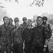 Waffen SS POWS Netherlands Sep 1944 IWM BU 1159