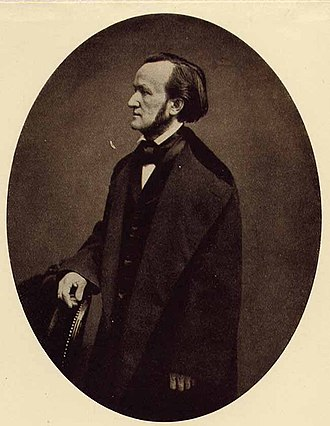 Tristan und Isolde - Photo of Richard Wagner in Bruxelles, 1860