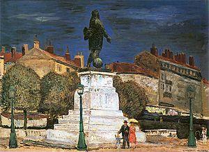 Zygmunt Waliszewski - Statue of General Championnet (1926)