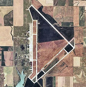 Walker Army Airfield (Kansas) - 2006 USGS photo of the former Walker Army Airfield