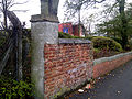 Wall at Wolverhampton Science Park, Gorsebrook.jpg