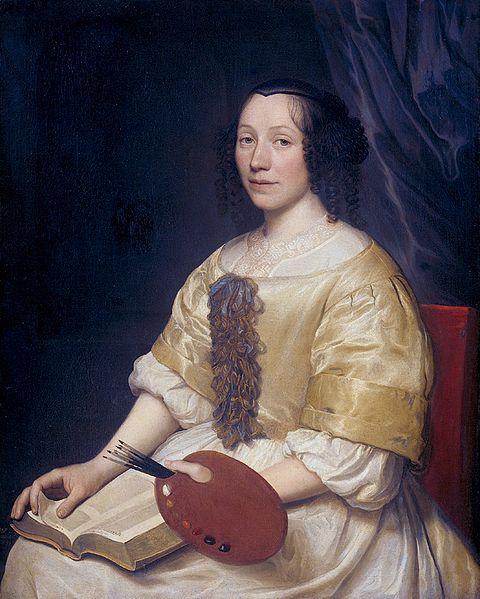 Королева натюрморта Maria Van Oosterwyck (1630-1693).