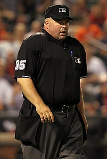 Wally Bell baseball umpire from the United States