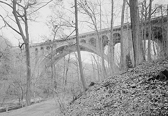Wissahickon Valley Park - Walnut Lane Bridge
