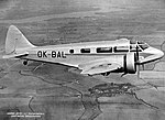 Walter Castor II a Airspeed AS.6E Envoy III (OK-BAL).jpg