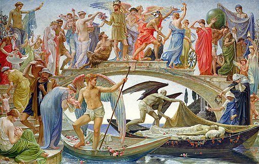 Walter Crane - The Bridge of Life (1884)